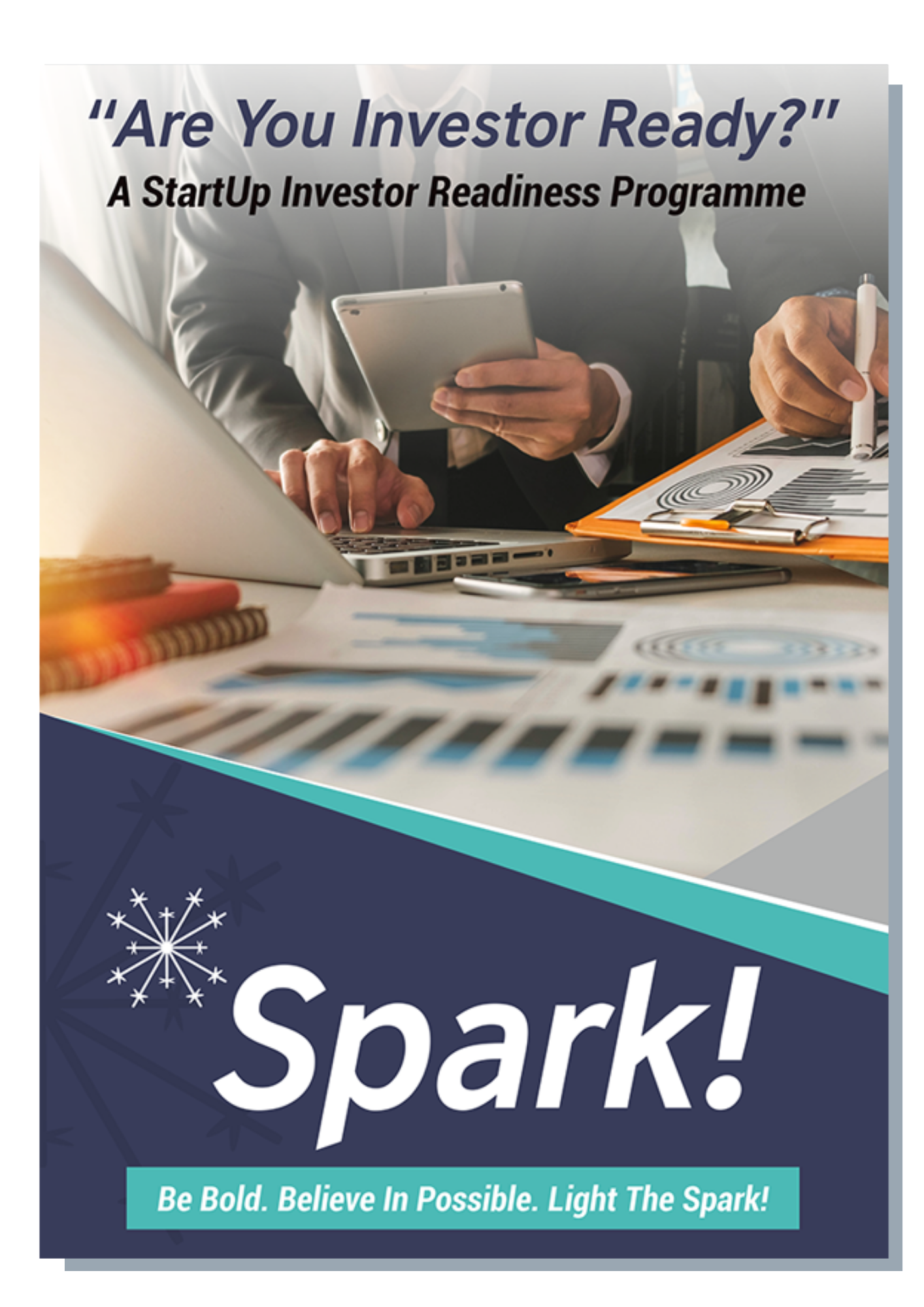 Spark_Investor ready Brochure with shadow
